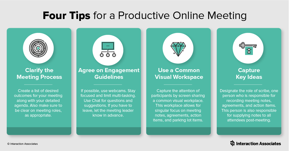 IA 4 Tips to Productive Online Meetings